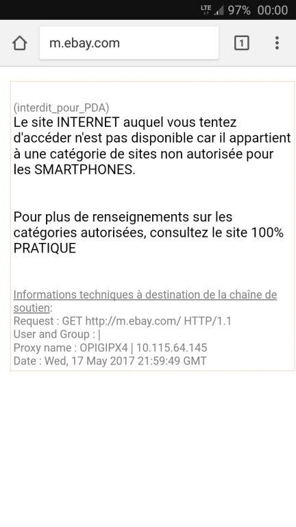Ebay & proxy